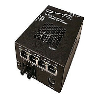 4X T1/E1 RJ-48 TO MMF ST-2KM TRANSPORT MUX CONVRT - More Info