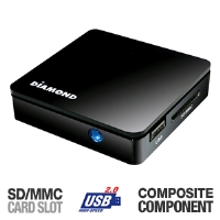Diamond MP700 HD Media Wonder Media Player - More Info
