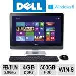 DELL 23 Pentium 500GB HDD 4GB DDR3 All-In-One PC