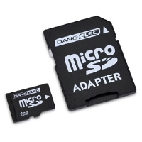 Dane-Elec 2GB Micro SD Flash Card - More Info