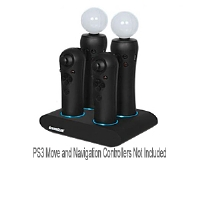 Dreamgear Quad Charger for PS3 Move - More Info