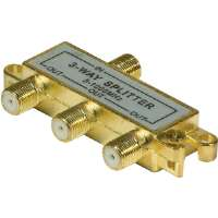 3-WAY 1GHZ RF SPLITTER - More Info