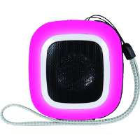 MINI SPEAKER (SQUARE) PINK - More Info