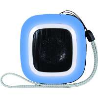 MINI SPEAKER (SQUARE) BLUE - More Info