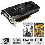 EVGA GeForce GTX 670 FTW 2GB GDDR5 Video Card