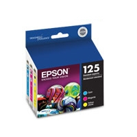 Epson 125 T125520 DURABrite Color Multipack - More Info
