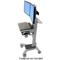 Ergotron 24-194-055 Neo-Flex Dual WorkSpace - More Info