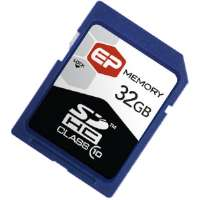 EP Memory 32GB SDHC (Secure Digital High Capacity) Class 10 Cards for sale Now