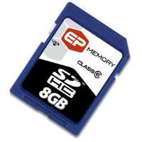 EP Memory 8GB miniSD High Capacity (miniSDHC) Card for sale Now