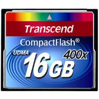 Transcend 16 GB CompactFlash (CF) Card - 1 Card for sale Now