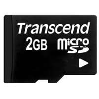 Transcend 2GB microSD Card for sale Now