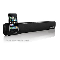 iLive iTP100B Bar Speaker with iPod Dock - More Info