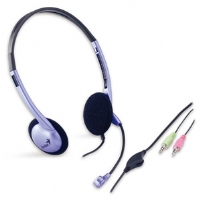 Genius HS-02B Classic Stereo Headset With Mic. - More Info