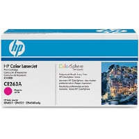 HP CE263A Color LaserJet Magenta Print Cartridge - More Info