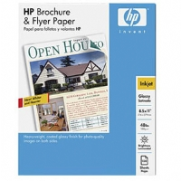 HP - Q1987A - 8.5 x 11 inches / 150 Sheets Glossy Brochure and Flyer Paper