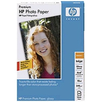HP Q1426A Universal High-gloss Photo Paper - 24in x 100ft