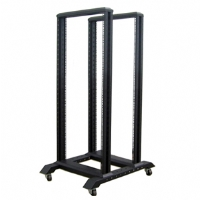 iStarUSA 45U Open Frame 4-Post Server Rack - More Info