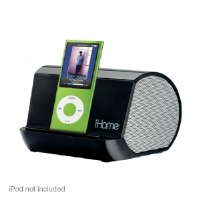 iHome IHM9 MP3 Stereo Speaker System - More Info