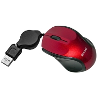 Inland 07048 Mini Retractable Mouse - More Info