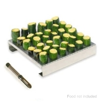 King Kooker 36JR 36 Hole Jalapeno Rack with Corer - More Info