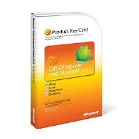 Microsoft Office Home and Student 2010 Product Key Card (for PC or Notebook Purchase) - More Info