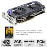 MSI GeForce GTX 660 Ti 2GB GDDR5 Video Card