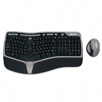Microsoft Natural Wireless Ergonomic Desktop 7000 - More Info