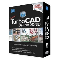 IMSI TurboCad Deluxe 2D/3D V17 Software