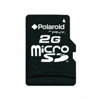 Polaroid 2GB microSD Flash Memory Card - More Info