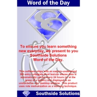 SOUTHSIDE SOLUTIONS WORD OF THE DAY WINDOWS BUNDLE - More Info