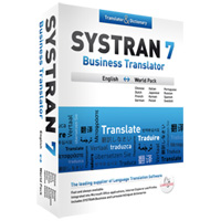 SYSTRAN 7 BUSINESS TRANSLATOR, ENGLISH EUROPEAN PA - More Info