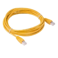 Raygo 10ft Cat5e 350MHz Snagless Patch Cbl Yellow - More Info