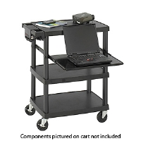 Safco 8929BL Multimedia Projector Cart - More Info