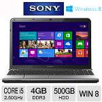 Sony VAIO 15.5 Core i5 500GB HDD Laptop