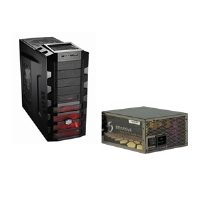 Sparkle GW-EPS1250DA 1250W Modular Power Supply and Cooler Master HAF 922M ATX Black Mid-Tower Case Bundle