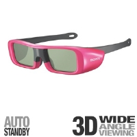 Sony TDGBR50/P Small Kid 3D Glasses - Pink - More Info