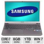 Samsung 15.6 Core i7 1TB HDD Laptop