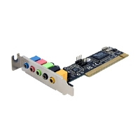 StarTech.com PCISOUND5LP 5-Channel Low Profile PCI - More Info