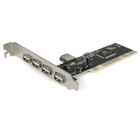 StarTech PCI420USB 4-Port USB 2.0 PCI Card - More Info