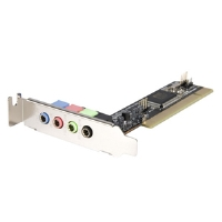 StarTech 4 Channel Low Profile PCI Sound Card - More Info