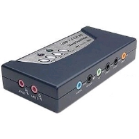 Sabrent USB-SND8 8-Channel Sound Box - More Info