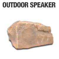 TIC Corporation TFS12CN Outdoor Rock Speaker - More Info