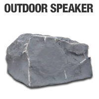 TIC Corporation TFS12SL Outdoor Rock Speaker - More Info
