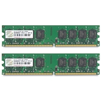 Transcend JetRam Dual Channel 2048MB PC5400 DDR2 667MHz Memory (2 x 1024MB) for sale Now