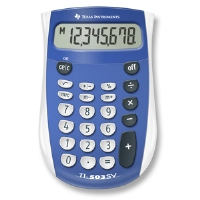 Texas Instruments TI503 503SV/FBL/4L1/A Calculator - More Info