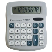 Texas Instruments T17350SV  Desktop Calculator - More Info