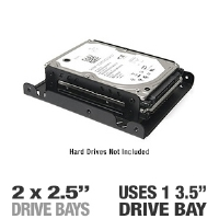 Thermaltake AC0014 Hard Drive Bay Converter - More Info