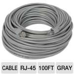 Ultra 100FT 350MHz Unshielded Twisted Pair CAT5e Stranded Patch Network Cable - 100FT, 30.5m, Unshielded Twisted Pair, Gray for sale Now