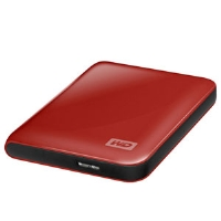 Western Digital 500GB Red Portable Hard Drive - More Info