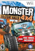 Monster 4x4 Stunt Racer With Wheel - More Info